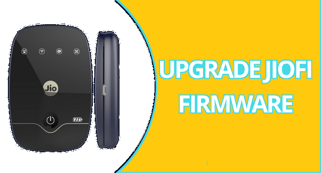 Jiofi Firmware upgrade